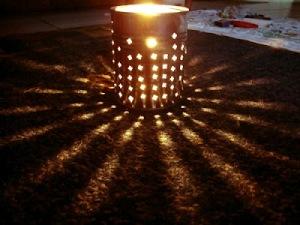 luminária de lata1