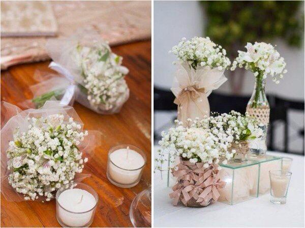 decoracao branca casamento:Inspirações Noivado!