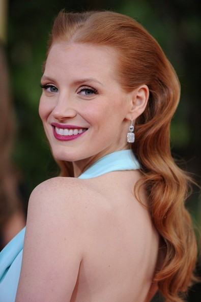 Jessica+Chastain+Long+Hairstyles+Long+Center+3GDWrubt2Qql